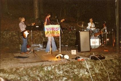 1st gig, 1st band.